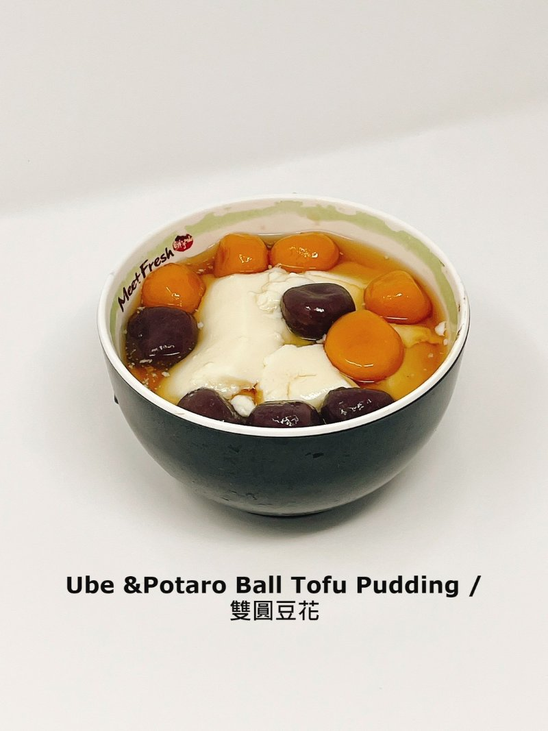 雙圓豆花_Ube & Potaro Ball Tofu Pudding.jpg