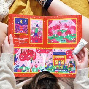 $99起 超可爱包装L'Occitane 圣诞礼盒 共2件,各含24件明星产品
