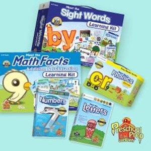 低至4.5折Preschool Prep 幼儿园宝宝学习套装