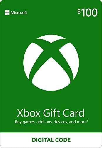 $100 Xbox 数字礼卡