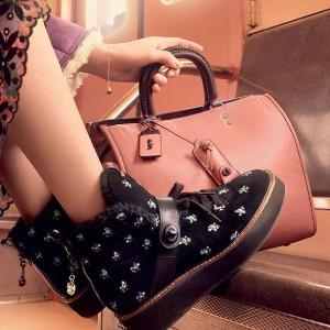 低至5折+包邮Coach 官网精选女士美鞋热卖 $237收过膝靴
