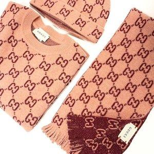 €155收爱心logo丝巾Gucci 爆款围巾大合集 别家买不到的断货王这里都有货