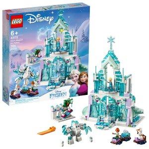 Lego艾莎的魔法冰雪城堡 43172