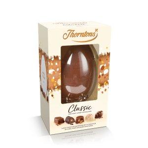 5个£25,2个£12收经典巧克力蛋