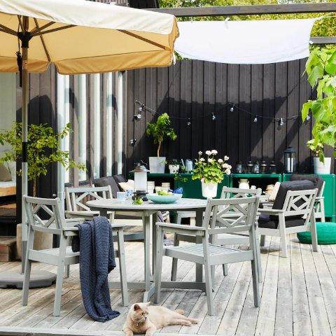 全场€13起 分分钟让家里改头换面IKEA 户外家具热卖 庭院和公寓阳台都值得被好好对待