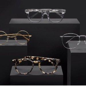 买一送一+额外7.5折黑五价:EyeBuyDirect 时尚框镜折扣 减龄神器透明框