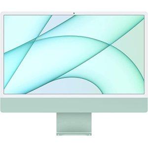 AppleNew Apple iMac (24-inch, Apple M1 chip with 8‑core CPU and 7‑core GPU, 8GB RAM, 256GB) - Green