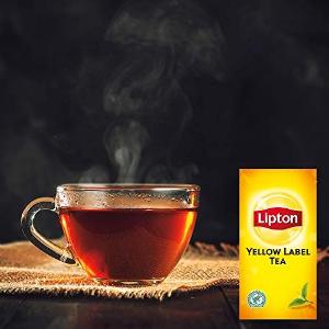100包仅€5.79Lipton 立顿黄标红茶 做奶茶就用这个 和早餐也绝配