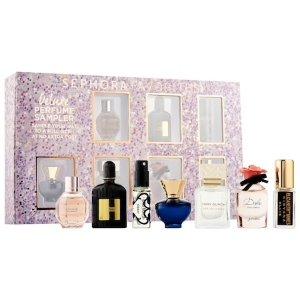 New Arrival! $75 ($140 value)Sephora Favorites Deluxe Perfume Sampler @ Sephora