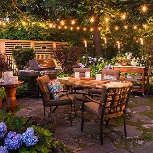 低至6折 $9.89收2米暖白灯串庭院氛围灯 这个秋冬你家最美 $20.99收超长66英尺灯
