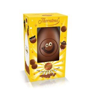 5个£25,2个£12收微笑巧克力蛋