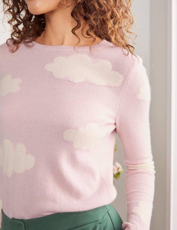 云朵羊绒毛衣