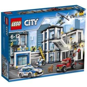 现价69.99 (原价€99.99)Lego 城市系列 警察总局 给孩子探索与发现的空间