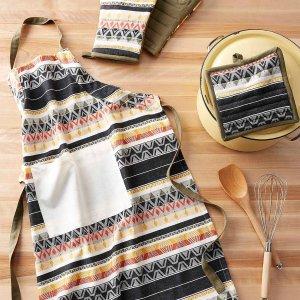 3.3折起 隔热手套$7起Simons 围裙、隔热手套热卖 $9收田园风围裙 下厨房也要美美哒