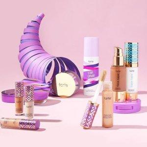低至4折起Tarte Cosmetics 全场彩妆热卖 收网红遮瑕、Bloom眼盘