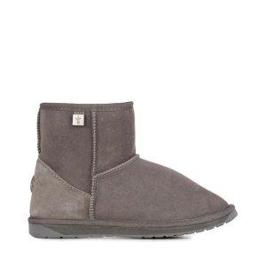 EMU Australia码数4/5/6变相3.5折!Platinum Stinger Mini 雪地靴