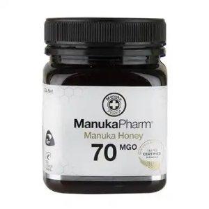 Manuka Pharm第2件5折+满享9折MGO70蜂蜜