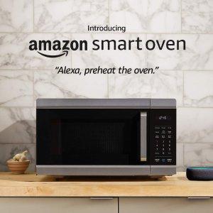 预售$249.99 一机多能Amazon 智能四合一微波炉空气炸烤箱+Echo Dot