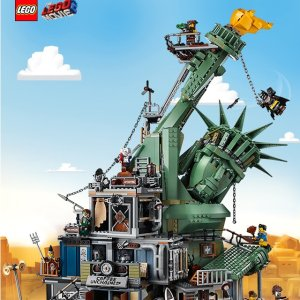 $299.99 VIP买送3份礼新品上市:LEGO乐高 大电影2系列之 欢迎来到Apocalypseburg 70840