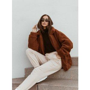 The Teddy Coat Brown