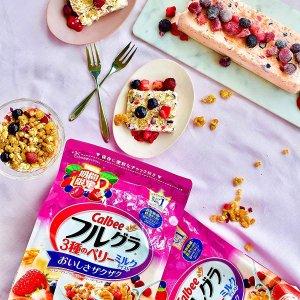 限时秒杀 $33/RMB228.5日亚 Cyber monday 年度大促 限定 卡乐比 蔓越莓蓝莓麦片 700g*6袋