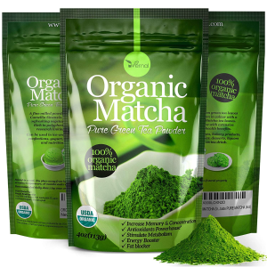 uVernal Organic Matcha Green Tea Powder 4oz