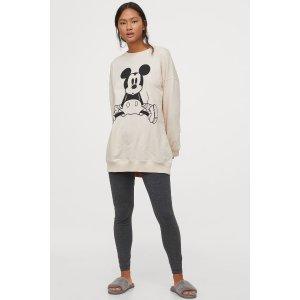 H&M会员额外8折~米奇睡衣套装