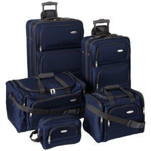 $99Samsonite 新秀丽旅行箱5件套 3色可选