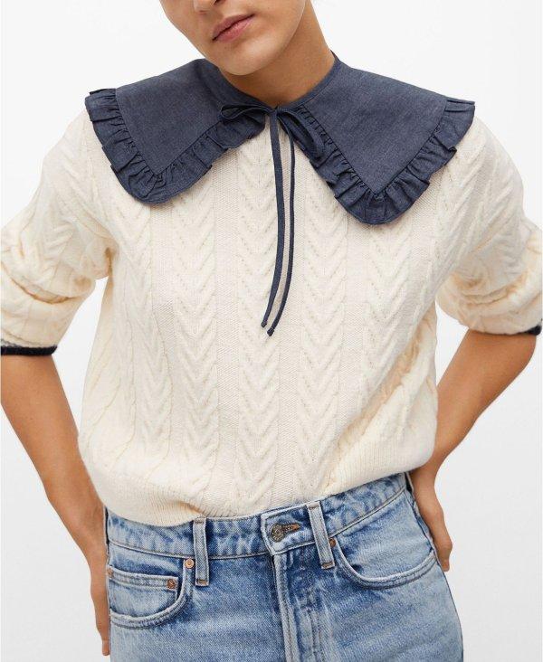可爱针织毛衣