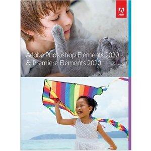 $69.99 下载版,支持Win/MacPhotoshop Elements & Premiere Elements 2020 套装