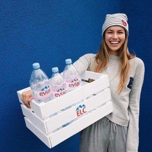 £12收6瓶 1.5L依云矿泉水补货:Amazon 依云 Fiji Voss 等矿泉水、气泡水热卖