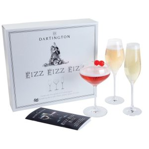 Dartington达丁顿水晶香槟酒杯套装 - 3只装