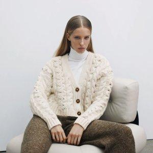 3折起 £14就收针织衫ZARA 针织衫毛衣 春季新款上市 速收小香风、新印花