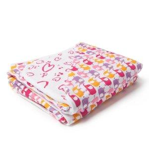 ZutanoPink Elephant Zzz Blanket