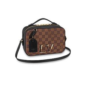 Louis Vuitton手快有!Santa Monica 棋格纹盒子包