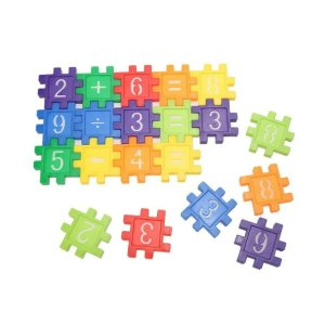 80-PIECE SET: Toddlers' Mini Educational Toy Blocks
