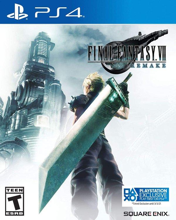 《最终幻想7 重制版》- PlayStation 4