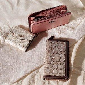低至4折+送卡包 £87收Tabby小钱包Coach官网 钱包卡包专场大促 超实用小包白菜价入手