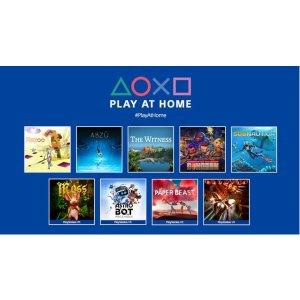 非会员也能喜加10预告:PlayStation 官方福利, 《地平线》等10款游戏免费拿