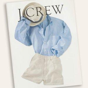 低至5折+额外3折J.Crew 折扣区精选女士服饰、鞋履促销