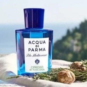 7.8折!£39收5瓶蓝色地中海帕尔玛之水 高级小众香氛全线大促!夏日清新橘子汽水