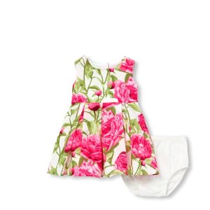 639d984e97fa ... Short Sleeve Floral Print Knit Off Shoulder Matching Dress. The  Children's PlaceBaby Girls Mommy and Me Sleeveless Floral Print Woven  Matching Dress And ...