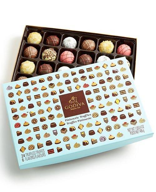 甜品款松露巧克力礼盒 24颗装