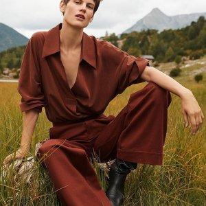 低至5折 $89收长款风衣Mango 美衣清仓特卖 收通勤女装、小香风外套、格纹西装