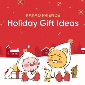 £4.99起收各类周边 圣诞限量上新上新:KAKAO Friends 韩系暴风可爱天团来袭 Apeach专场