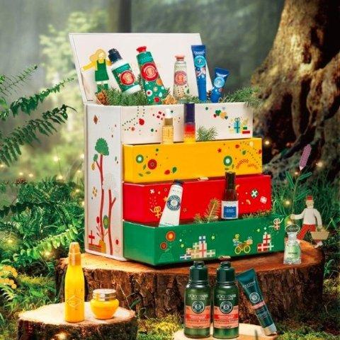 面霜享8折+抄底价收套装L'OCCITANE欧舒丹 圣诞礼盒提前享 24天惊喜连连开不断