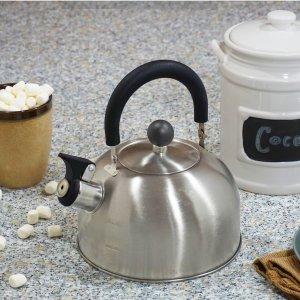 $7.72Mainstays 1.8-Liter Whistle Tea Kettle, Stainless Steel