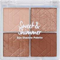 Sweet & Shimmer 四色眼影盘