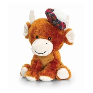 Keel Toys 弗格斯高地奶牛娃娃 - 14cm