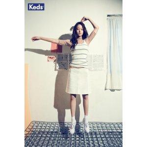 Keds平底小白鞋